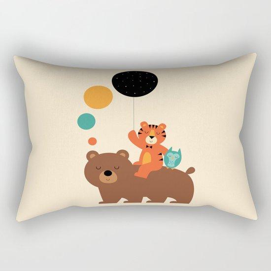 My Little Explorer Rectangular Pillow
