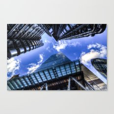 Lloyd's and the Gherkin and Cheese Grater London Canvas Print