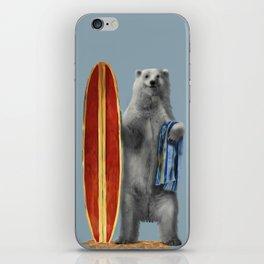 Polar Surfer iPhone Skin