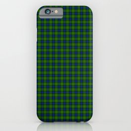 Muir Tartan iPhone Case