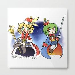 The King and Nageki Metal Print