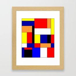 Mondrian #9 Framed Art Print
