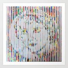 Bette D Art Print