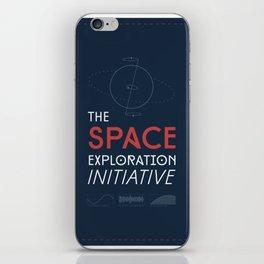 The Space Exploration Initiative iPhone Skin