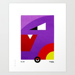 PKMNML #024 AR BOK Art Print