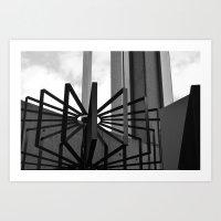 metal Art Prints featuring Metal by ephemerality