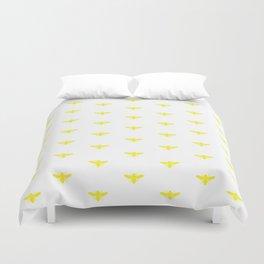 BUMBLEBEE ((sunshine yellow)) Duvet Cover