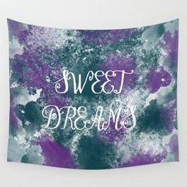 Sweet Dreams Paint Splatter Wall Tapestry