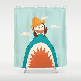 Yeehaw! Shower Curtain