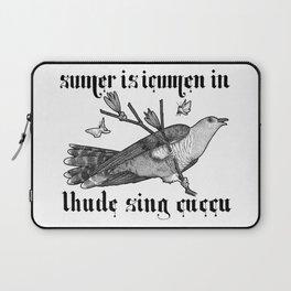 Lhude Sing Cuccu Laptop Sleeve