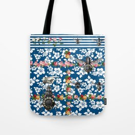 Rotary Bug on The Canal Tote Bag