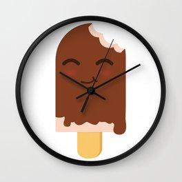 Happy ice cream stick Wall Clock