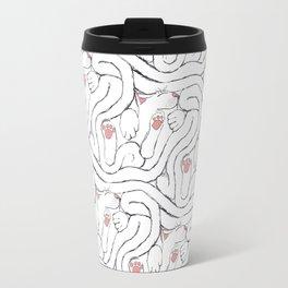 Decker Sleeps, a cat tessellation Travel Mug