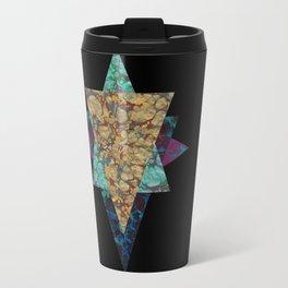 Marbled Gold Travel Mug