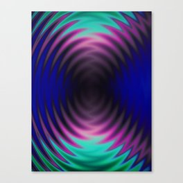 UVportal puddle Canvas Print