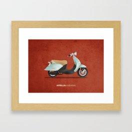Aprilia Habana Framed Art Print