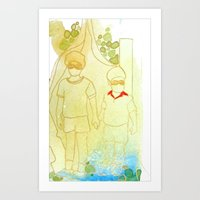 Hold Hands in Times of Trouble Art Print