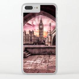 London - Big Ben Clear iPhone Case