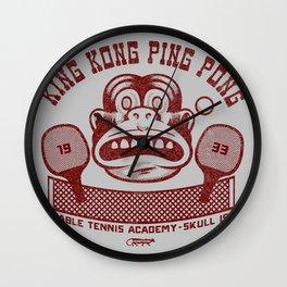 King Kong Ping Pong Wall Clock