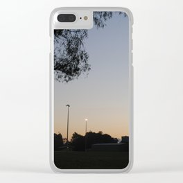 Suburban Fragility Clear iPhone Case