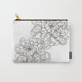 Simple Peony Carry-All Pouch