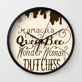 Mrs Always Right Wall Clock