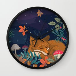 Hibernation Wall Clock