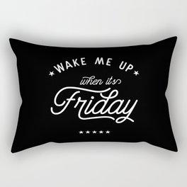 Wake me up Rectangular Pillow