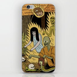 The Woodland Ghosts iPhone Skin