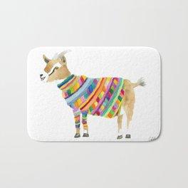 Goat in a Sweater Bath Mat
