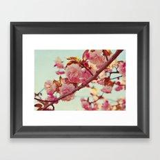 lovely spring Framed Art Print