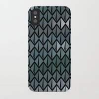 scales iPhone & iPod Cases featuring Scales by Xaphedo