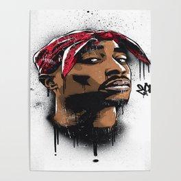 Tupac's Potrait Poster