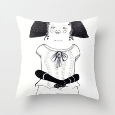 Srta. Asunción Throw Pillow