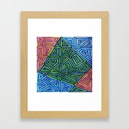 Blending In Framed Art Print