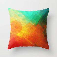 Dreamy Sunset Throw Pillow
