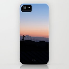 Before Marin County Sunrise iPhone Case