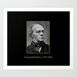 Etienne Carjat- portrait of Halevy Art Print