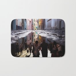 A Reflection of City Life by GEN Z Bath Mat