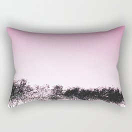 Lovely pink sky Rectangular Pillow
