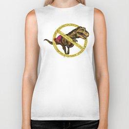 No T-rex arms Biker Tank