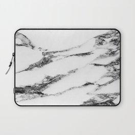 Marble (White) Laptop Sleeve
