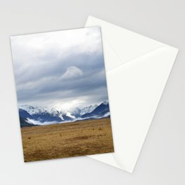The Home of the Long White Cloud on the Road to Milford Sound Stationery Cards