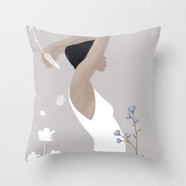 Summer Morning II Throw Pillow