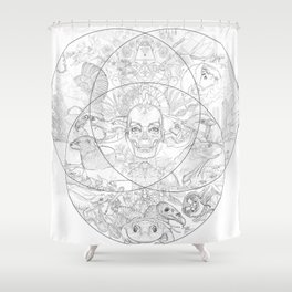 New Nature Shower Curtain