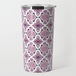 Lilac Moroccan Tiles Travel Mug