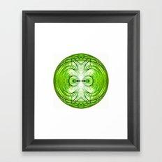 281 - Abstract Orb Framed Art Print