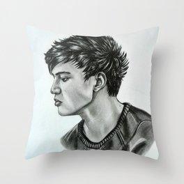 Calum from 5 Seconds of Summer Throw Pillow