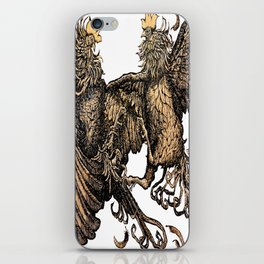 Two Kings - Roosters iPhone Skin