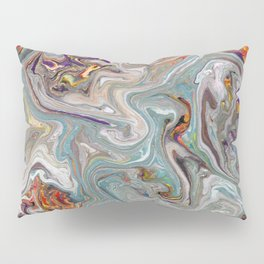 Abstract Oil Painting 9 Pillow Sham